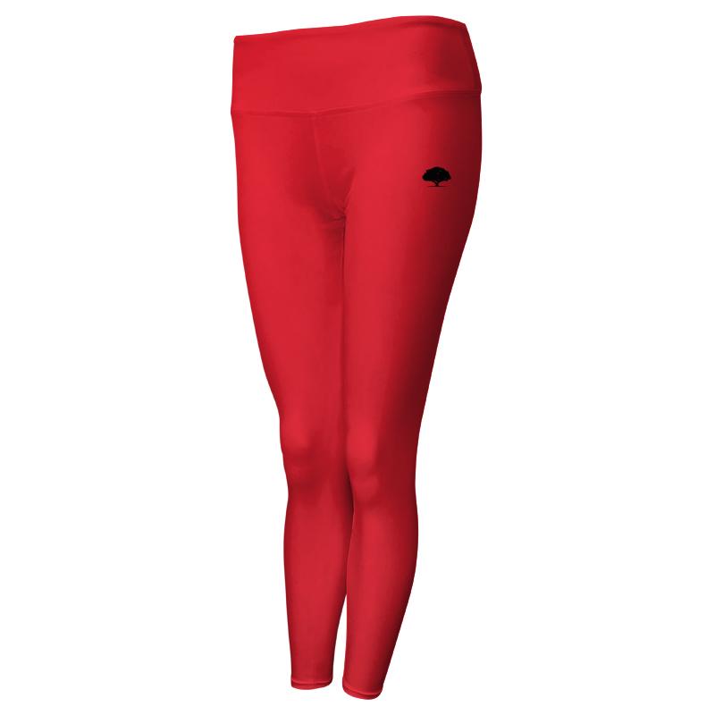 Ladies Custom Athletics Comfort Waist Full Length Tights 015
