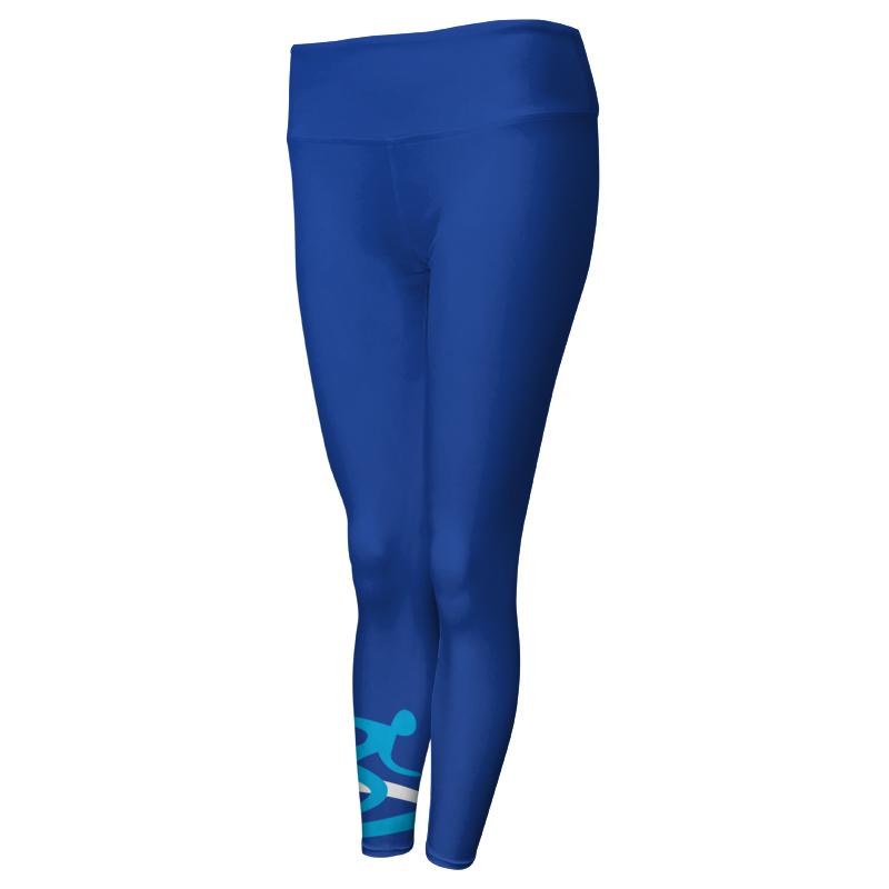 Ladies Custom Athletics Comfort Waist Full Length Tights 017