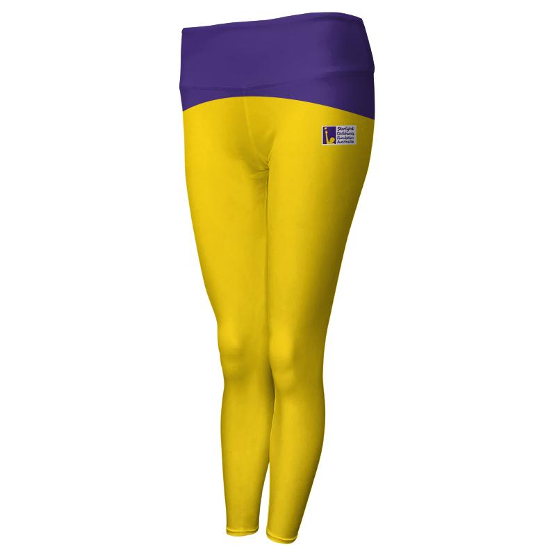 Ladies Custom Athletics Comfort Waist Full Length Tights 018