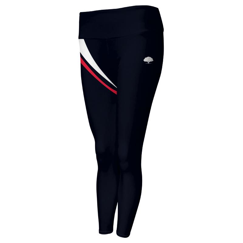 Ladies Custom Athletics Comfort Waist Full Length Tights 019