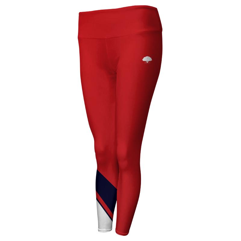 Ladies Custom Athletics Comfort Waist Full Length Tights 020