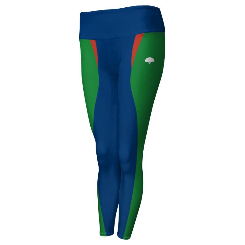 Ladies Custom Athletics Comfort Waist Full Length Tights 022