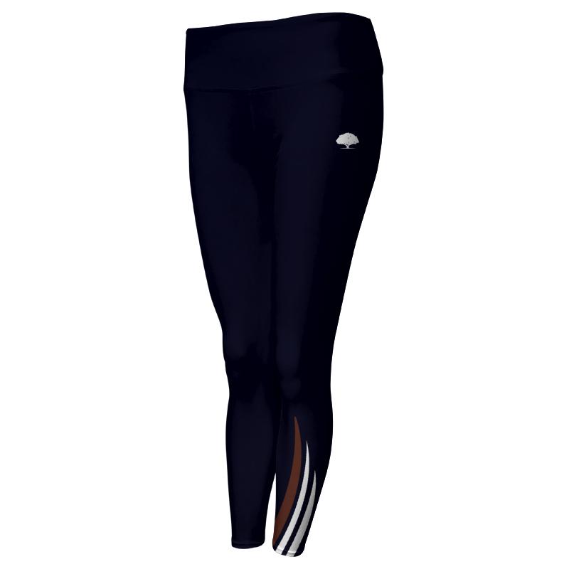 Ladies Custom Athletics Comfort Waist Full Length Tights 023
