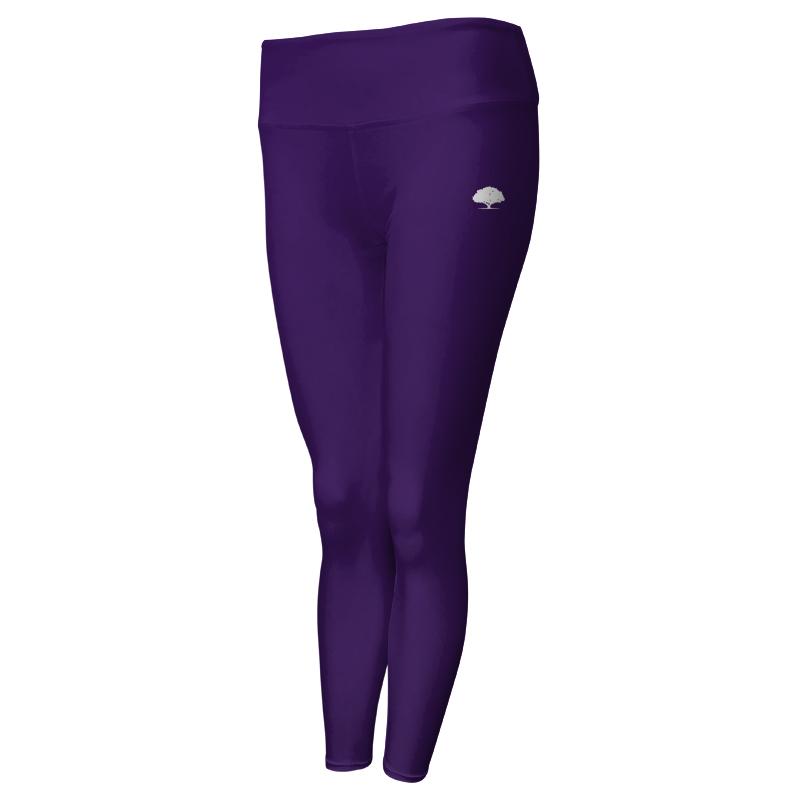 Ladies Custom Athletics Comfort Waist Full Length Tights 024