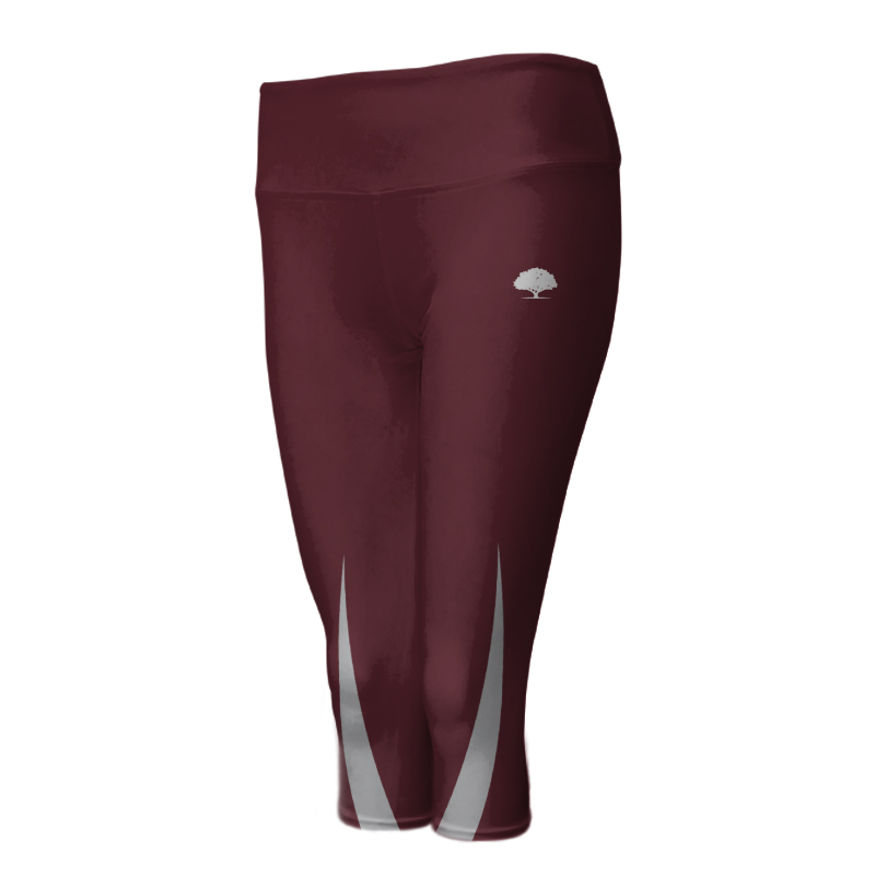 Ladies Custom Athletics ¾ Length Comfort Tights 001