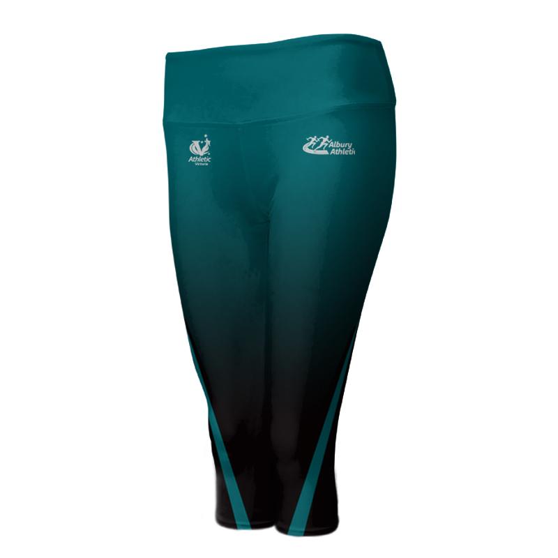 Ladies Custom Athletics ¾ Length Comfort Tights 003