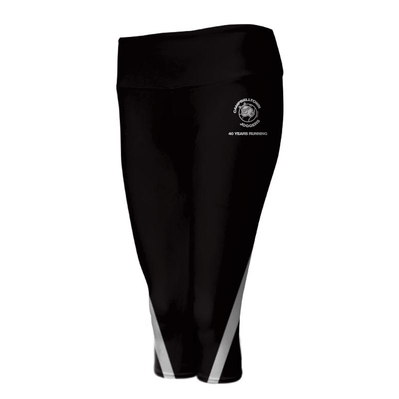 Ladies Custom Athletics ¾ Length Comfort Tights 004