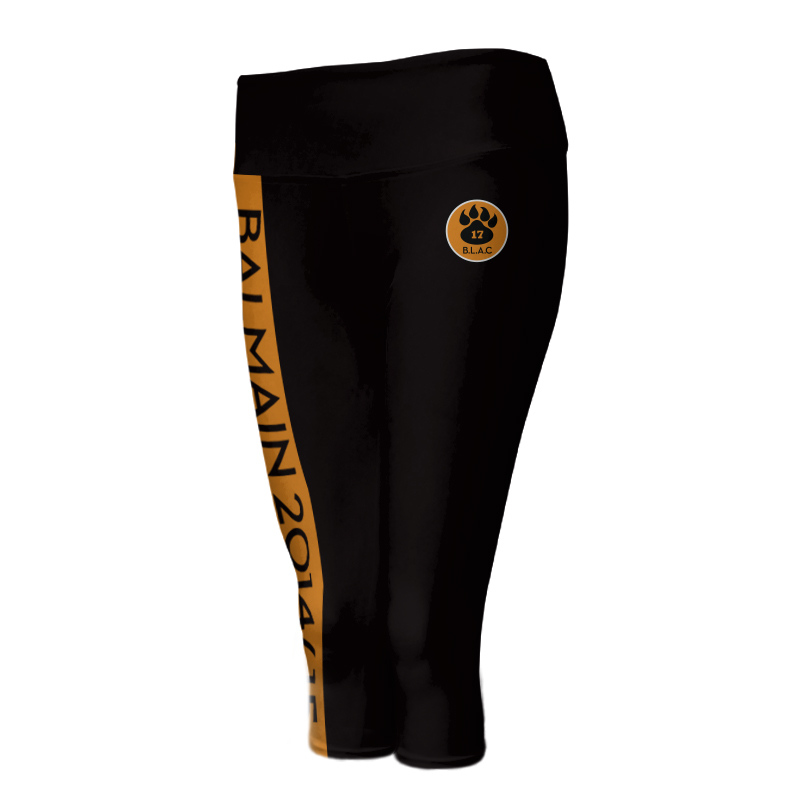 Ladies Custom Athletics ¾ Length Comfort Tights 005
