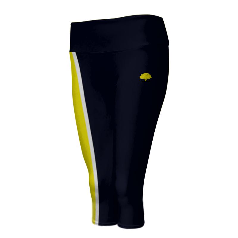 Ladies Custom Athletics ¾ Length Comfort Tights 007