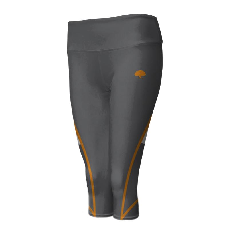 Ladies Custom Athletics ¾ Length Comfort Tights 008