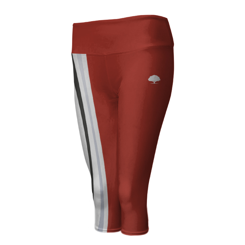 Ladies Custom Athletics ¾ Length Comfort Tights 013