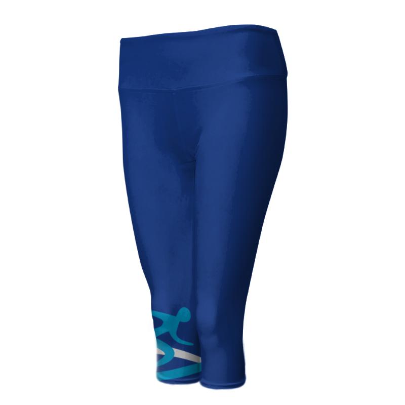 Ladies Custom Athletics ¾ Length Comfort Tights 017