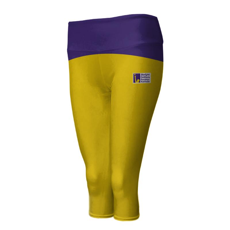 Ladies Custom Athletics ¾ Length Comfort Tights 018