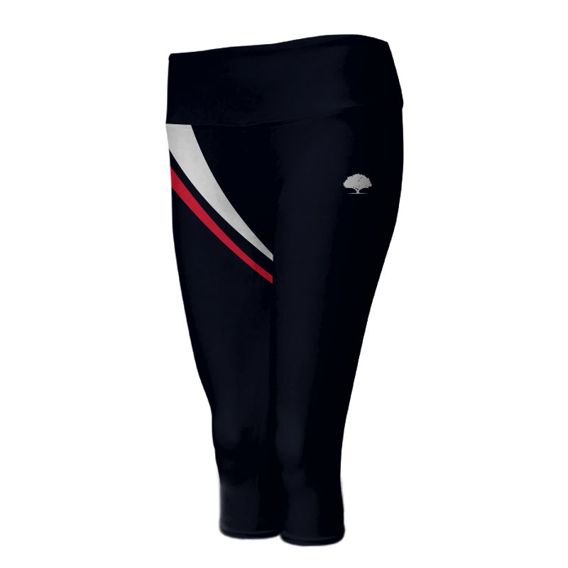 Ladies Custom Athletics ¾ Length Comfort Tights 019