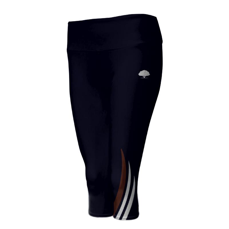 Ladies Custom Athletics ¾ Length Comfort Tights 023