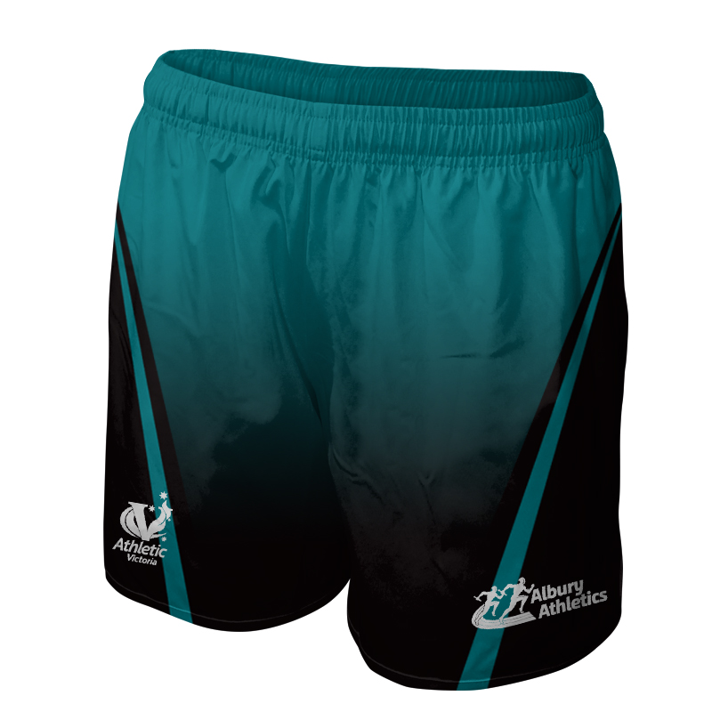 Ladies Custom Athletics Sports Shorts 003