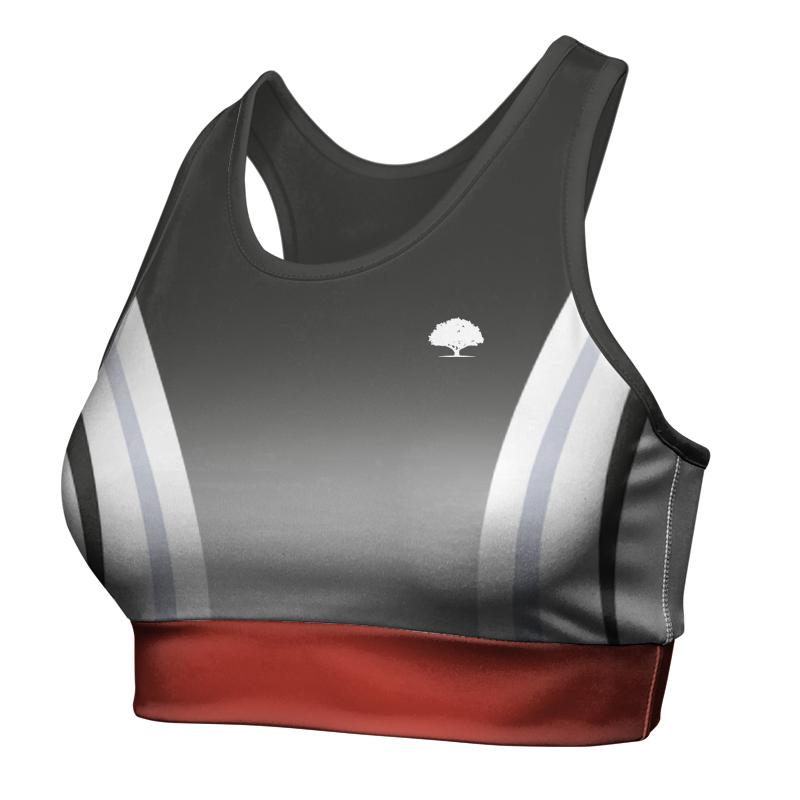 Ladies Custom Athletics Racer Back Crop 013