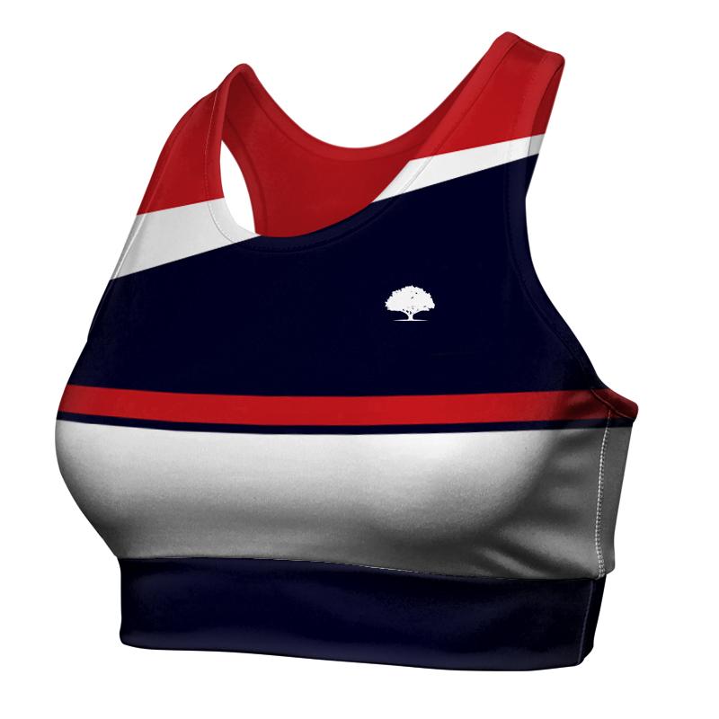 Ladies Custom Athletics Racer Back Crop 020