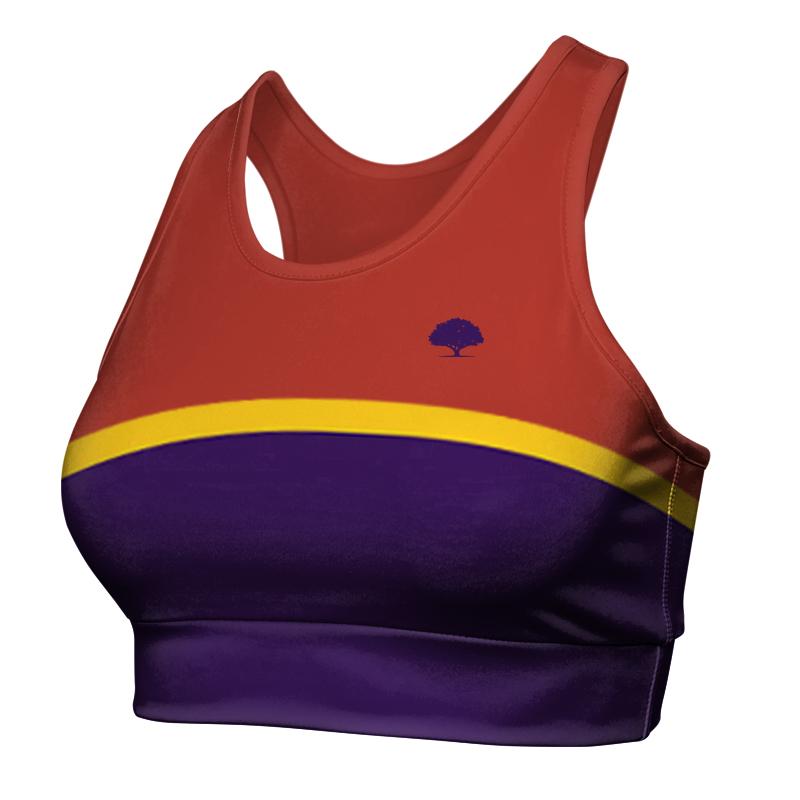 Ladies Custom Athletics Racer Back Crop 024