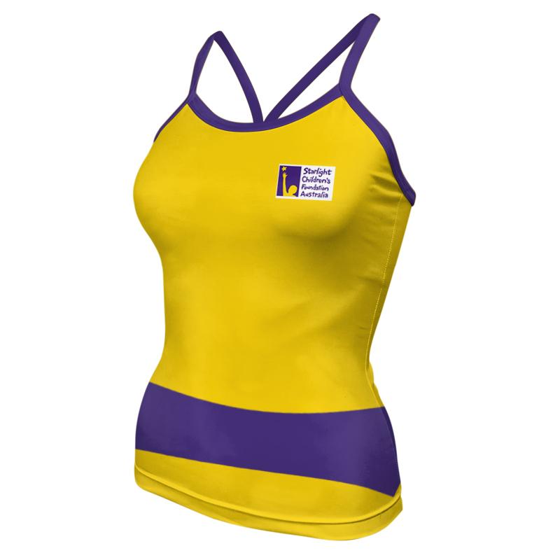 Ladies Custom Athletics Tank Singlet 018