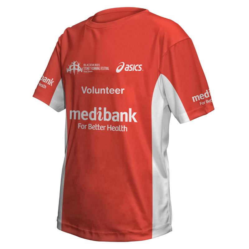 2015 Sydney Running Festival Volunteer Tee