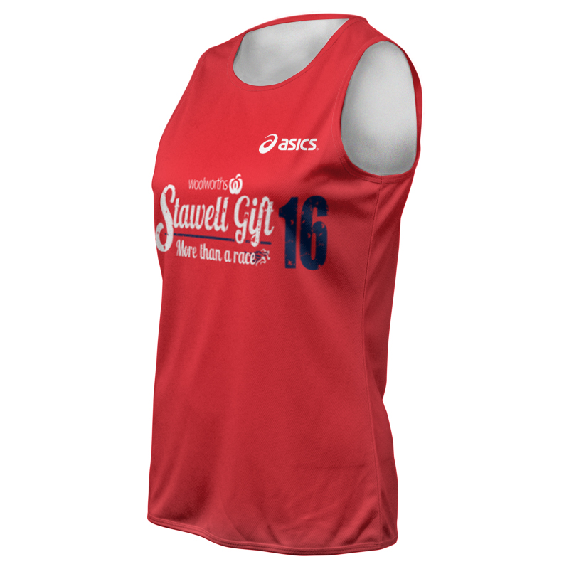 2016 Stawell Gift Formula One Event Singlet
