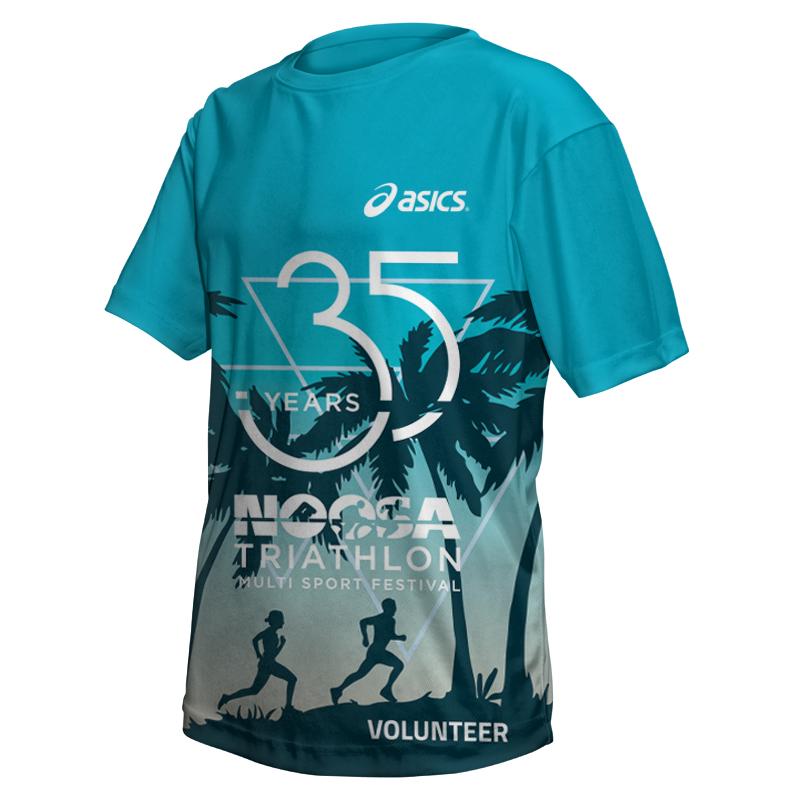 2017 Noosa Triathlon Volunteer Tee