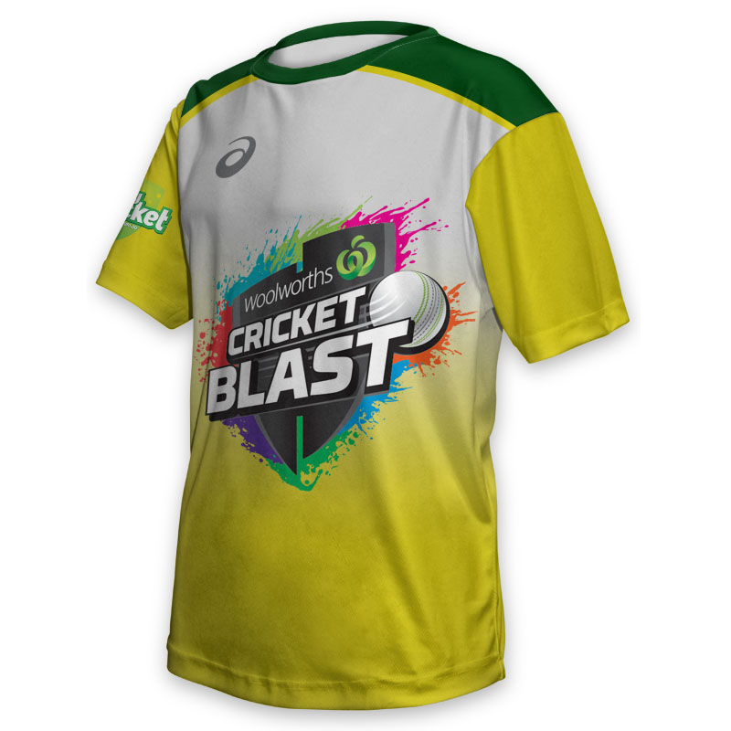 Kids Tee - Cricket Blast Australia