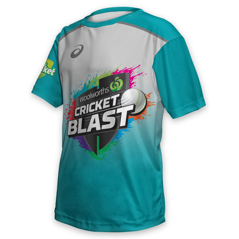 Kids Tee - Cricket Blast Heat