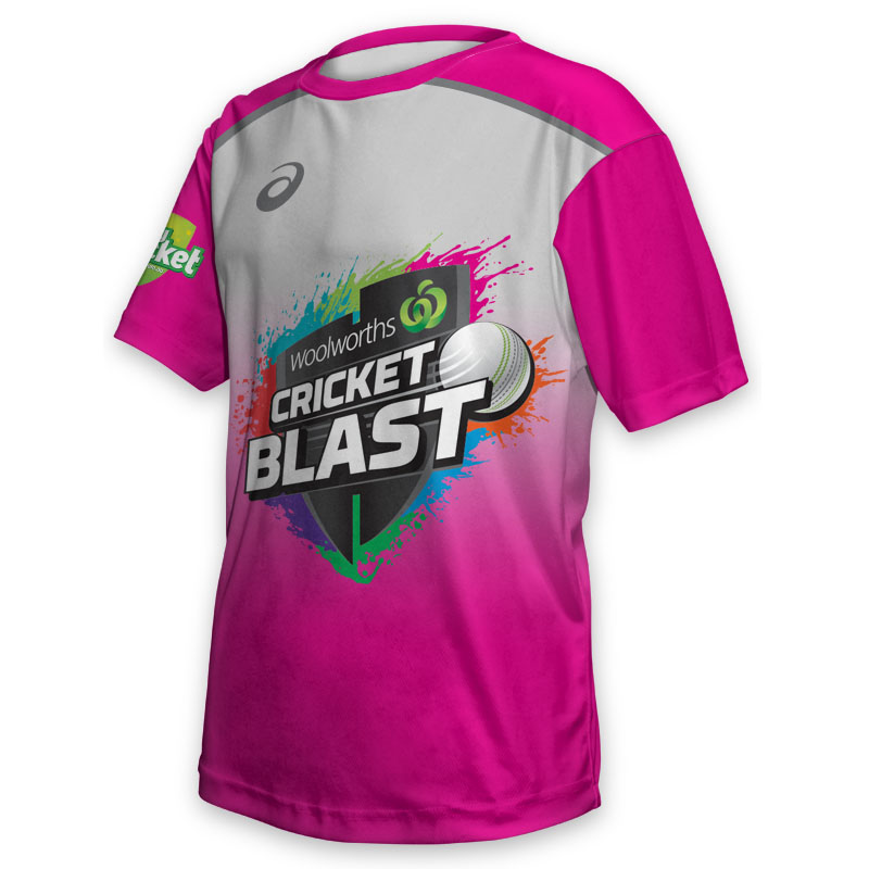 Kids Tee - Cricket Blast Sixers