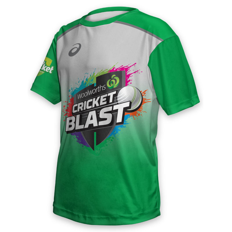 Kids Tee - Cricket Blast Stars