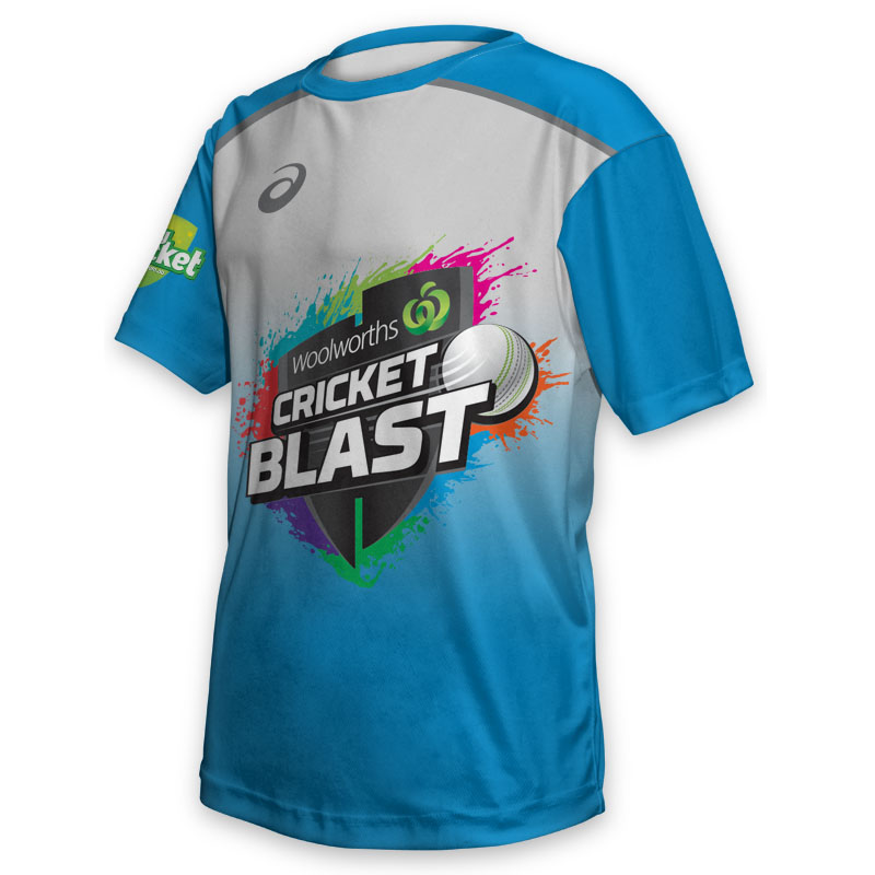 Kids Tee - Cricket Blast Strikers