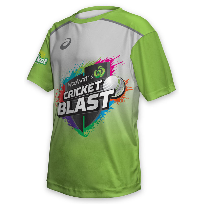 Kids Tee - Cricket Blast Thunder