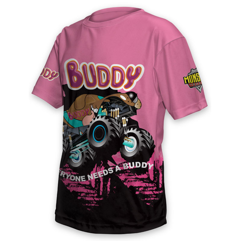 Kids Tee - Monster Truck Buddy 1
