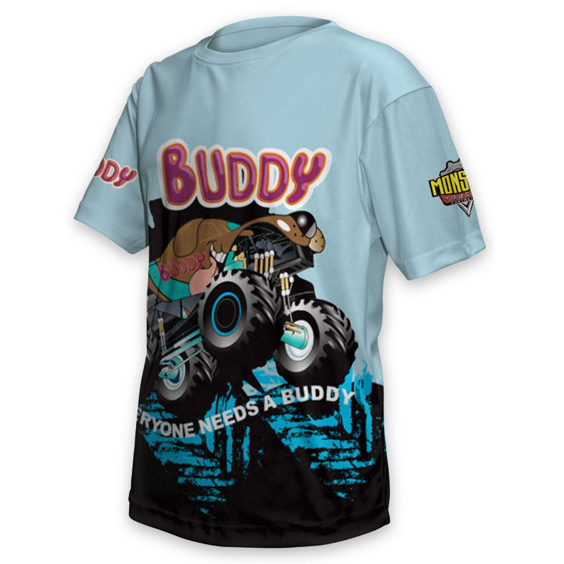 Kids Tee - Monster Truck Buddy 2