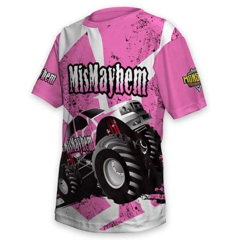 Kids Tee - Monster Truck MisMayhem