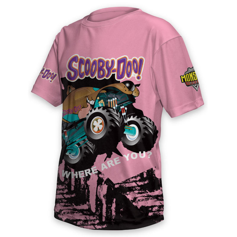 Kids Tee - Monster Truck Scooby Doos