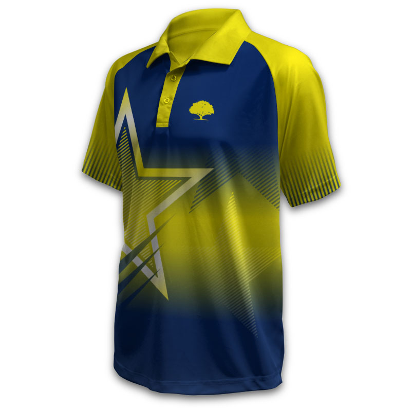 Unisex Custom Cricket T20 Polo 008