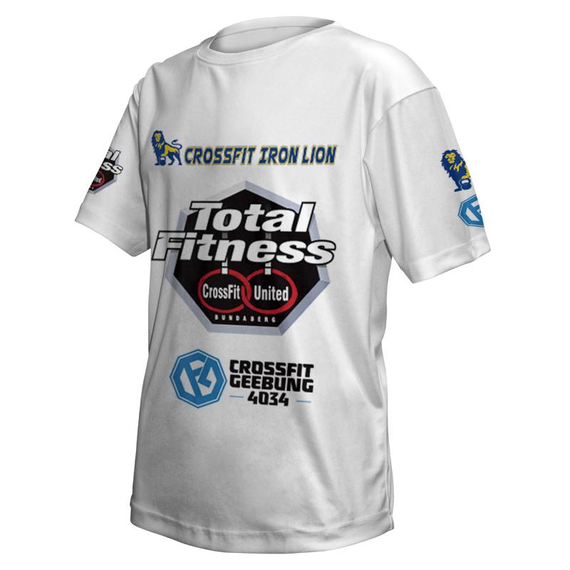 Unisex Custom Fitness Tee 001