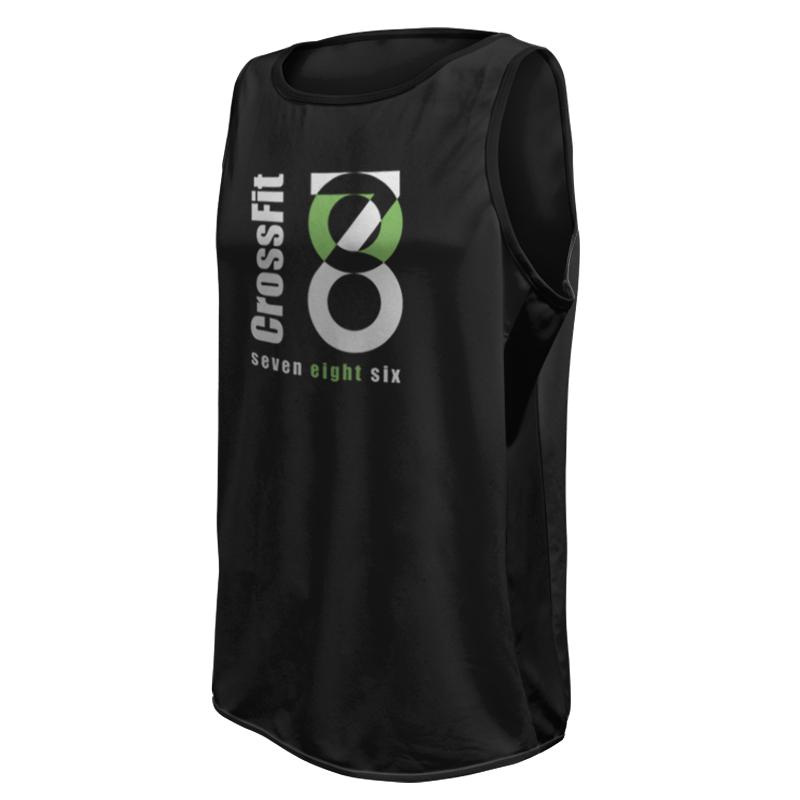 Unisex Custom Fitness Singlet 005