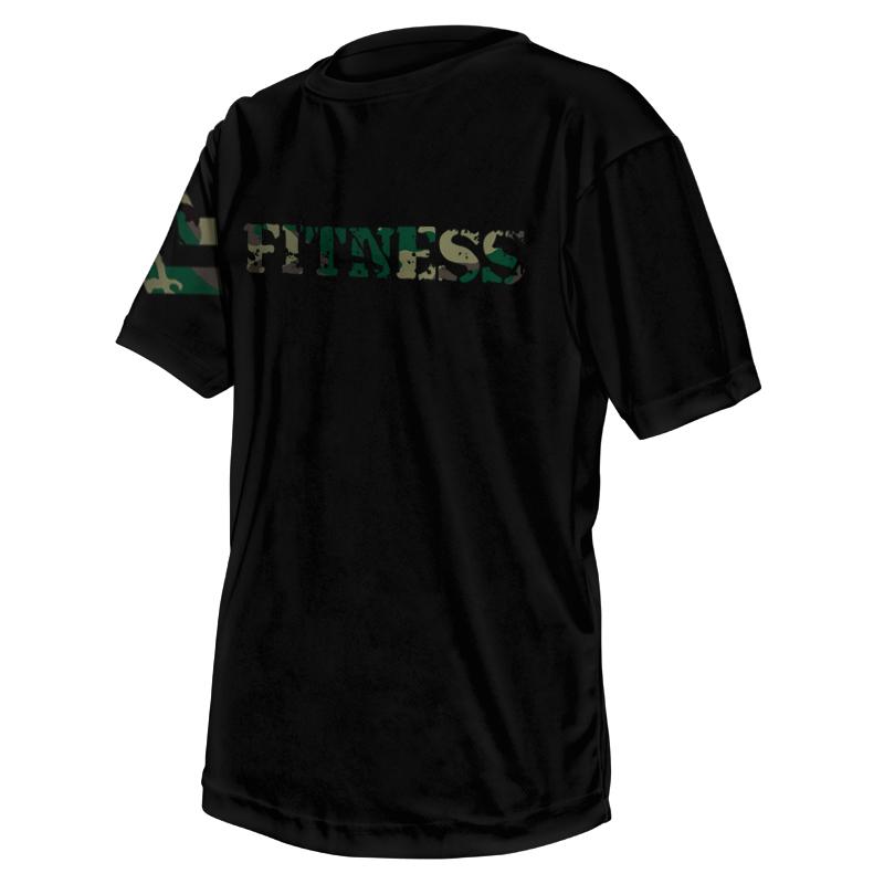 Unisex Custom Fitness Tee 003