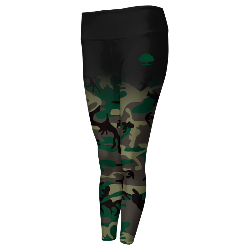 Ladies Custom Fitness Full Length Tights 003