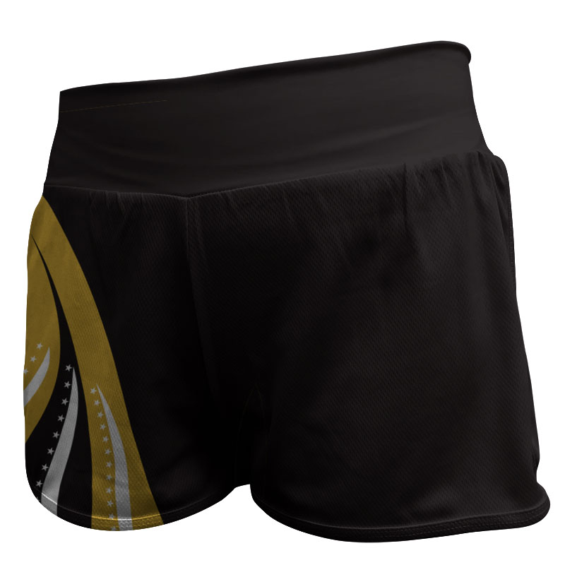 Gymnastics Fitted Shorts 001