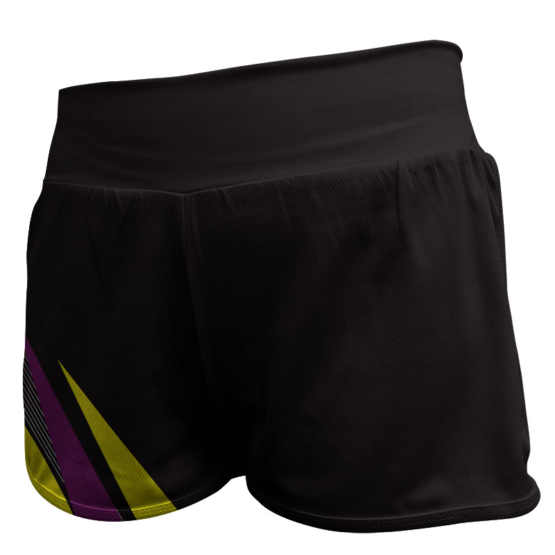 Gymnastics Fitted Shorts 005