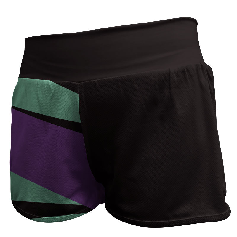 Gymnastics Fitted Shorts 006