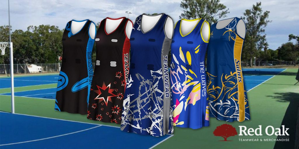 Custom Design Netball Dresses